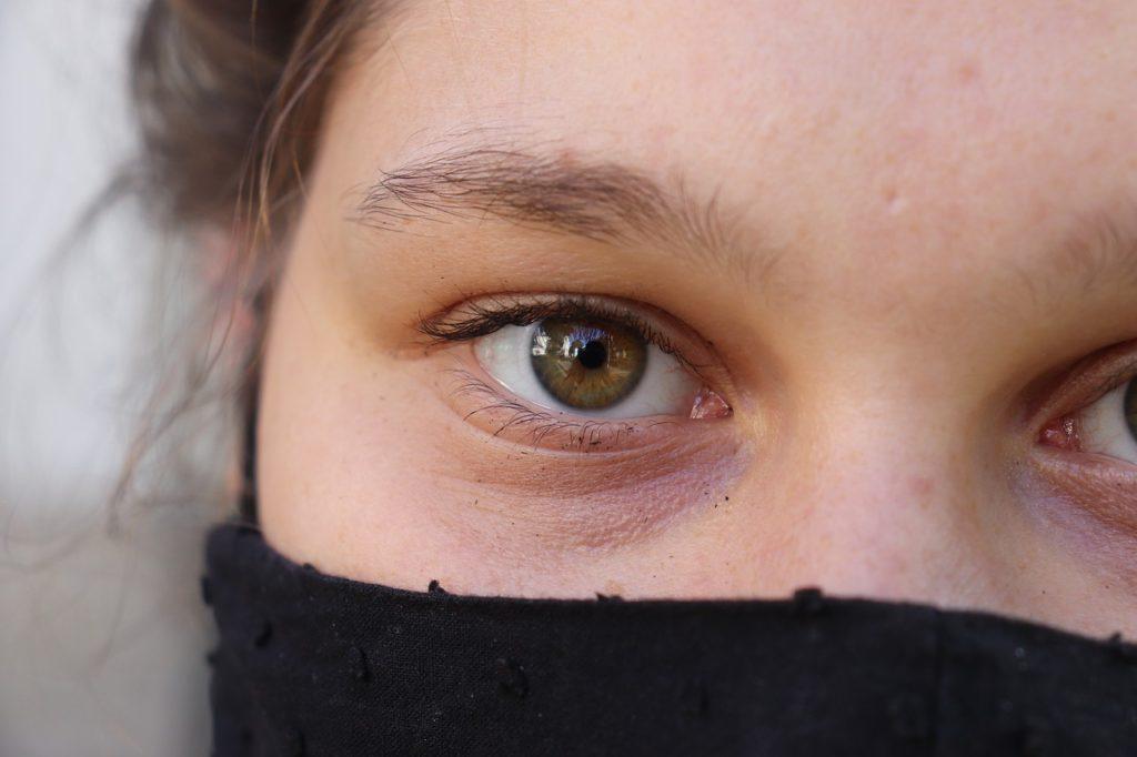 Woman Face Eye Iris Facemask  - citypraiser / Pixabay